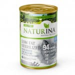NATURINA Elite Wet Low Fat / Sterilized 400g - 94% Ryba z Indykiem