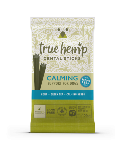 TRUE HEMP DENTAL STICK Z KONOPIAMI 100G - USPOKAJAJĄCE