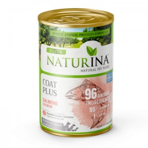 NATURINA Elite Wet Coat Plus 400g - 95% Łosoś