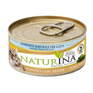 NATURINA Elite Wet Cat 70g - Tuńczyk z algami