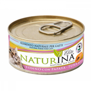 Naturina Wet Cat 70g - Tuńczyk z papaya
