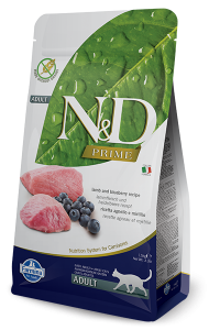 FARMINA N&D CAT PRIME LAMB & BLUEBERRY 1,5 KG