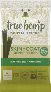 TRUE HEMP DENTAL STICK Z KONOPIAMI (Large-125g) - SKÓRA + SIERŚĆ