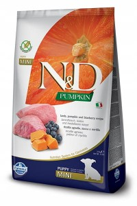 FARMINA N&D PUPPY PUMPKIN LAMB & BLUEBERRY MINI 2,5 KG