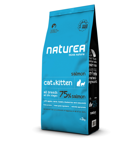Naturea Naturals Cat and Kitten Salmon.png
